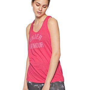Under Armour Pink Racerback Workout Sport Tank